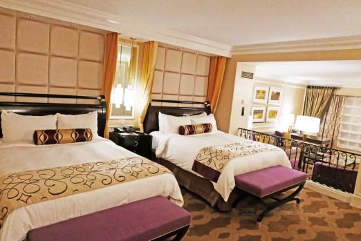 Hotel Review: The Venetian Las Vegas Bella Suite Bedroom