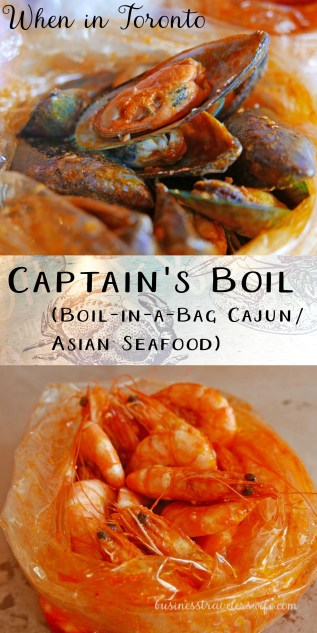 When in Toronto: The Captain's Boil (Boil-in-a-Bag Cajun/Asian Seafood)