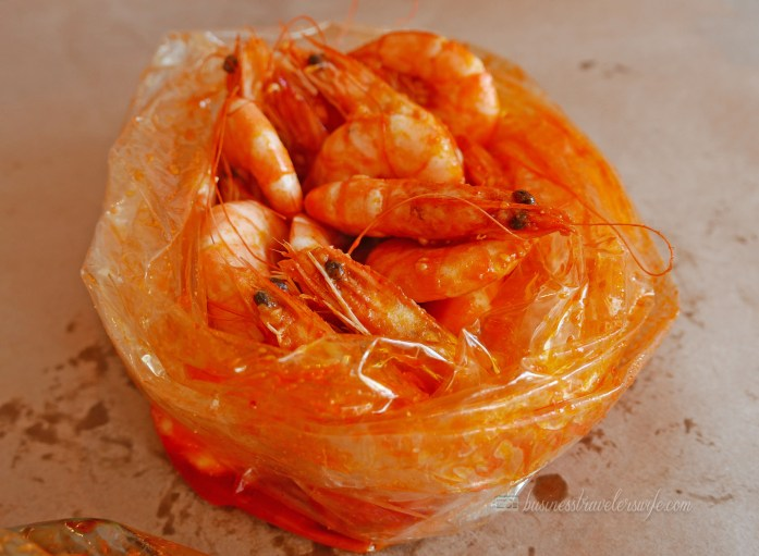 When in Toronto: The Captain's Boil (Boil-in-a-Bag Cajun/Asian Seafood) Shrimps