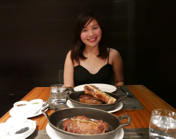Toronto Jacobs & Co. Steakhouse romantic dinner birthday celebration Business Trave;er's Wife