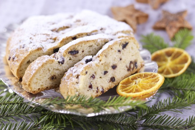 10 Must-Visit Christmas Markets Around the World for Foodies Zurich christkindlimarkt Christmas Stollen Christstollen Fruit Cake