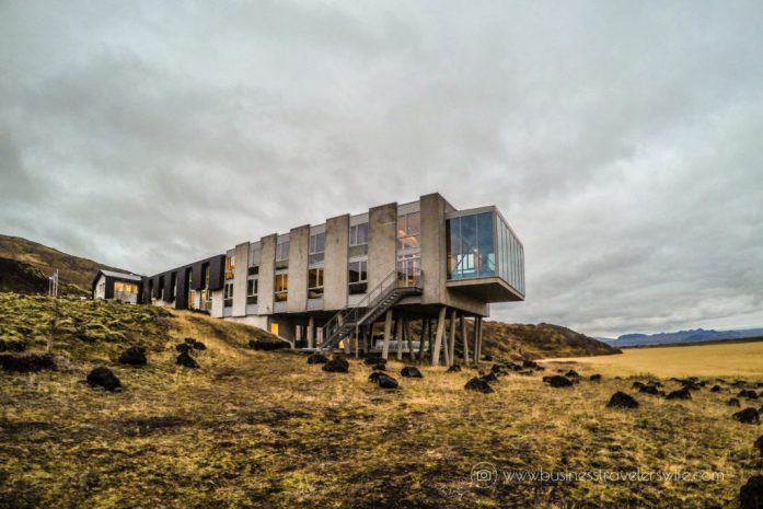 Where to Stay in Iceland - ION Adventure Hotel View