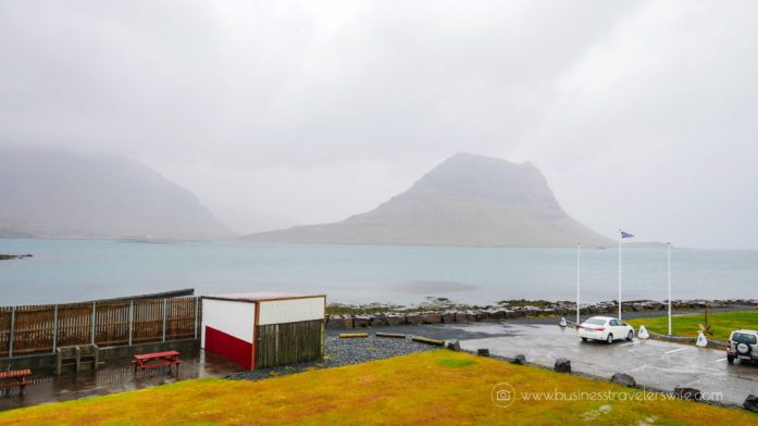 Where to Stay in Iceland - Grundarfjordur Hostel Room View of Kirkjufell Mountain