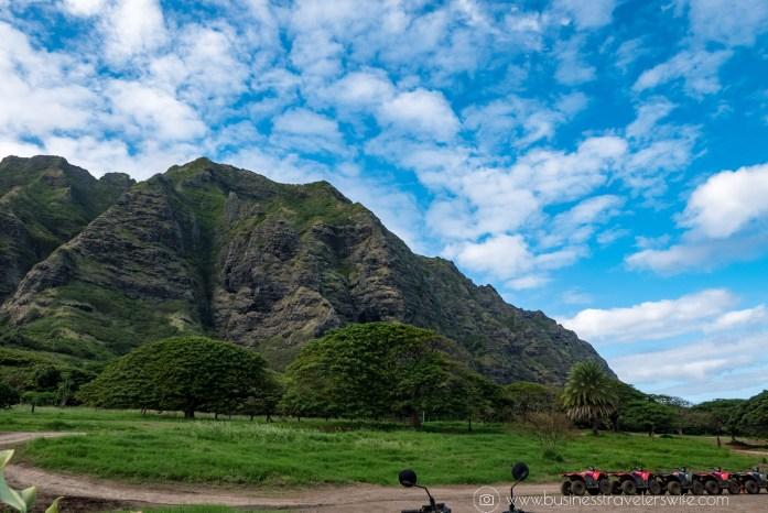ATV Tour in Kualoa Ranch Oahu Views