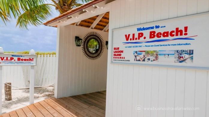 VIP Beach Day and Dolphin Encounter on Blue Lagoon Island, Bahamas
