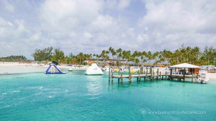 VIP Beach Day and Dolphin Encounter on Blue Lagoon Island, Bahamas