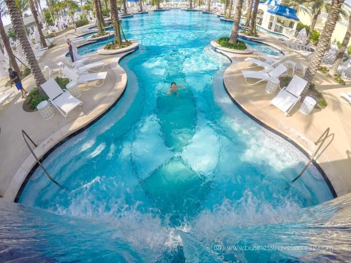 Grand Hyatt Baha Mar - A Grand Vacation in Nassau Bahamas 7 outdoor pools waterfall