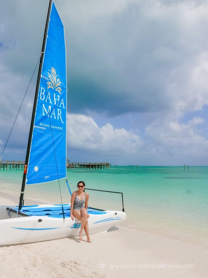 Grand Hyatt Baha Mar - A Grand Vacation in Nassau Bahamas beach sail