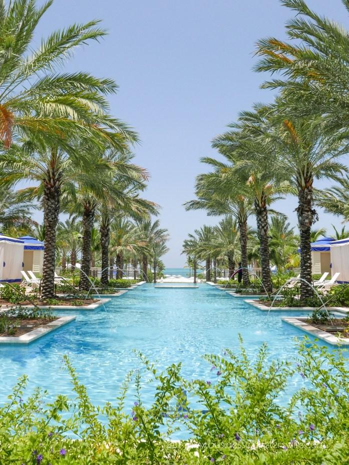 Grand Hyatt Baha Mar - A Grand Vacation in Nassau Bahamas fountain pool