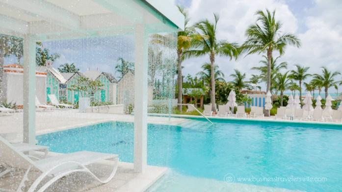 Grand Hyatt Baha Mar - A Grand Vacation in Nassau Bahamas 7 outdoor pools rainfall