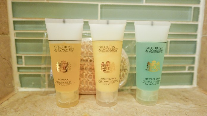 The Cove Atlantis - Autograph Collection at Paradise Island, Bahamas ocean suite room bathroom toiletries