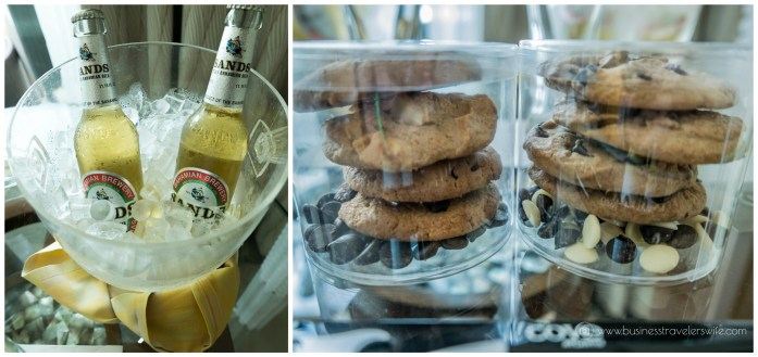 The Cove Atlantis - Autograph Collection at Paradise Island, Bahamas welcome amenities sands bahamian beer cookies