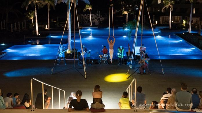 Experience the All-Inclusive Resort at Hyatt Ziva Cancun Activities acrobat