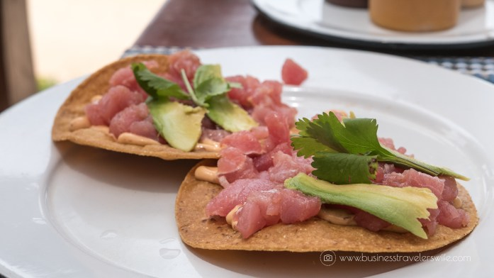 Experience the All-Inclusive Resort at Hyatt Ziva Cancun Habaneros Tuna Fish Tartare Tostados with Chipotle Pepper (1 of 1)