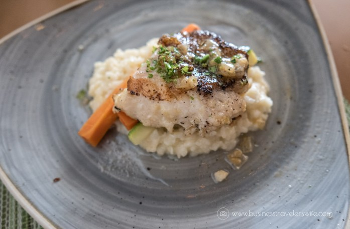 Experience the All-Inclusive Resort at Hyatt Ziva Cancun Lorenzo's risotto