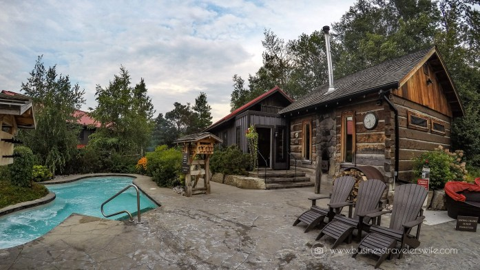 Relaxing Getaway at Scandinave Spa Blue Mountain Finnish Spa