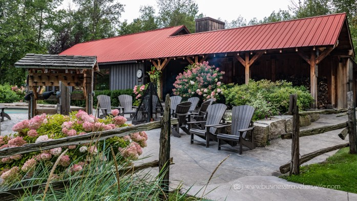 Relaxing Getaway at Scandinave Spa Blue Mountain muskoka chairs