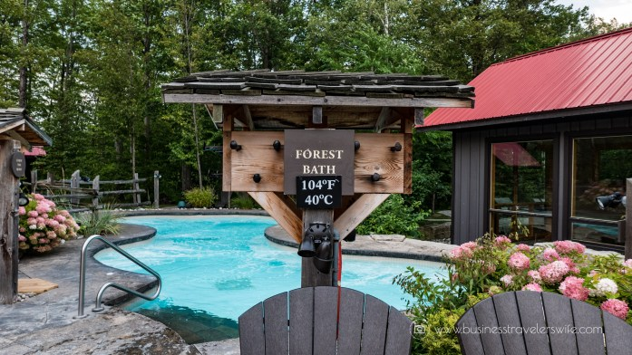 Relaxing Getaway at Scandinave Spa Blue Mountain forest bath