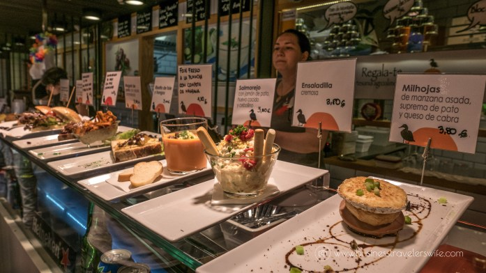 Experiencing the Best of Madrid in a Day - Explore, Eat, Stay Food Markets Mercado de San Anton tapas