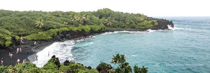 10 Memorable Stops on the Road to Hana for A Self-Drive Tour Maui, Hawaii Wai'anapanapa Black Sand Beach