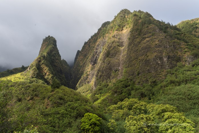 Visiting Haleakala Crater, Iao Valley and Other Interesting Stops in Maui Valley Isle Excursions Tour Iao Valley Stairs Iao Needle-7