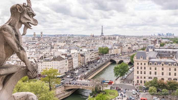 Beautiful Sights in Paris You Shouldn't Miss Notre-Dame Tower Gargoyles