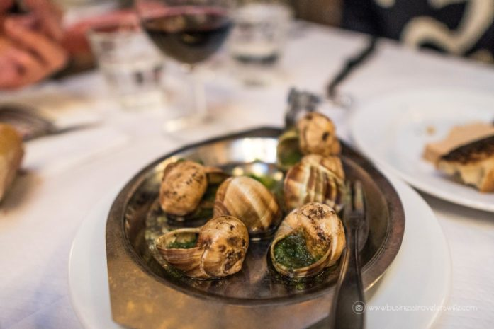 Our List of Must-Try Foods in Paris Bouillon Chartier Escargot