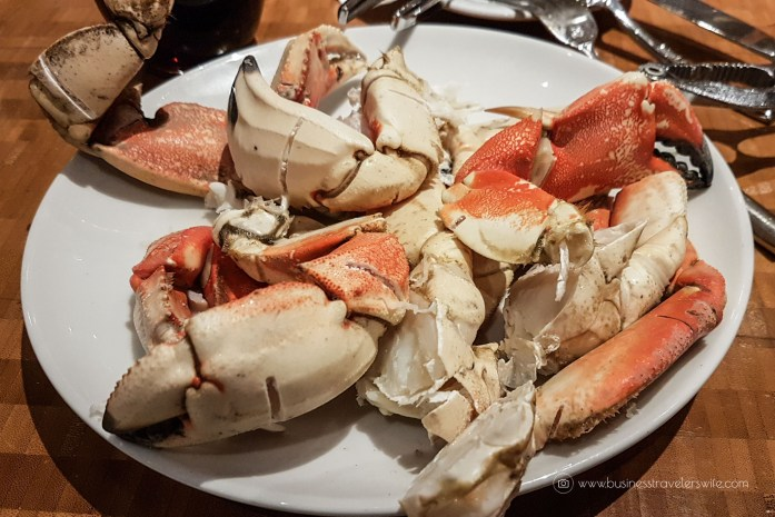 Las Vegas Travel Hack Using myVEGAS Rewards and Hotel Comps Complimentary Dinner Buffet at The Buffet, Aria crab legs