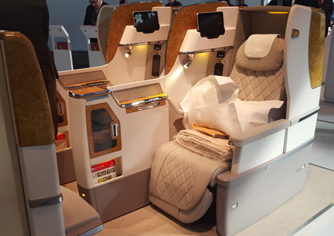 Image result for emirates airlines first class