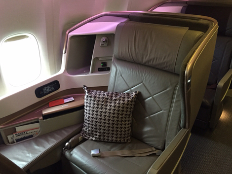 Image result for singapore airlines new business class