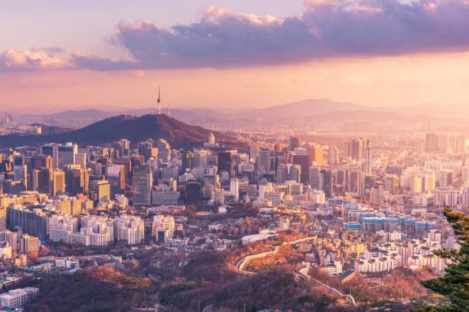 Seoul City Skyline, Zuid-Korea