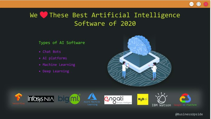 Best Artificial Intelligence Software