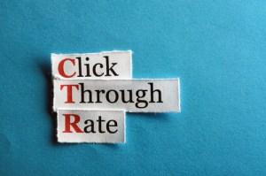 good click-through rate