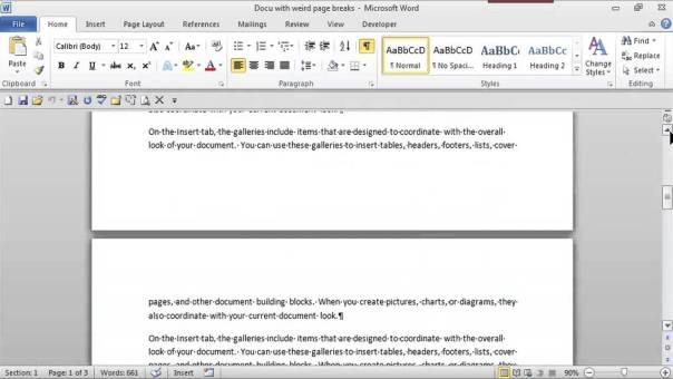 remove paragraphs