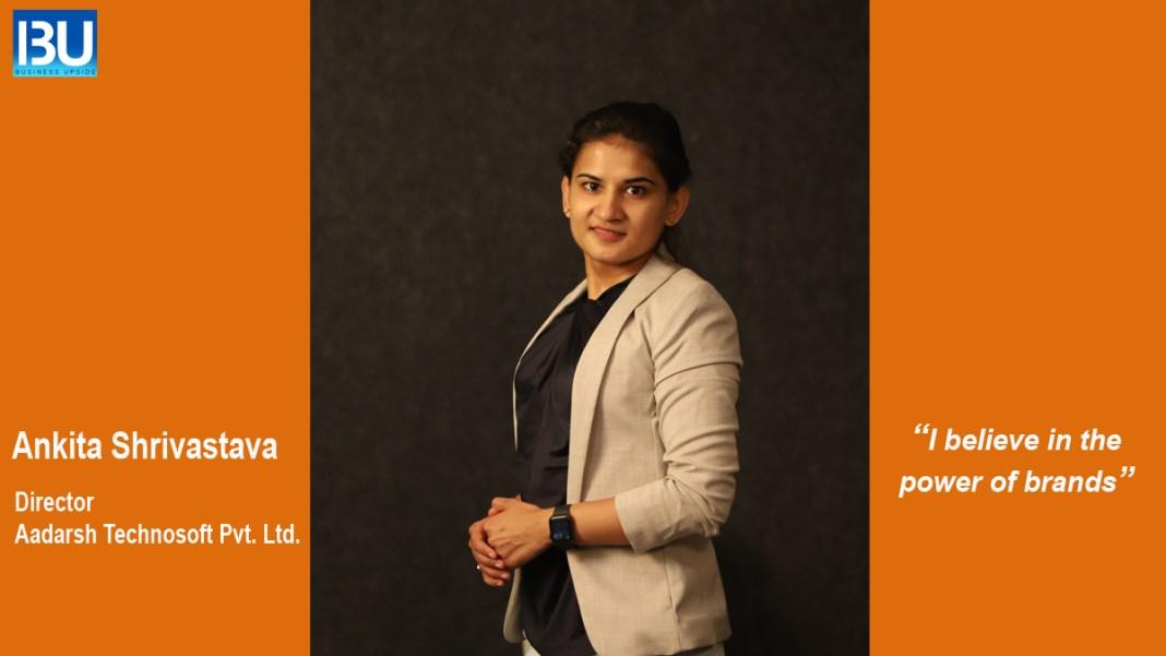 Ankita Shrivastava, The Director, Aadarsh Technosoft Pvt Ltd