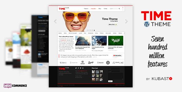 Time Responsive WordPress Themeforest Theme v3.3