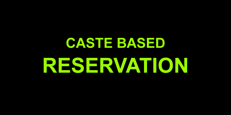 reservation for upper cast