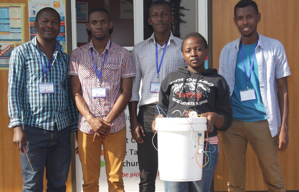 A-team of five students from three Universities in Uganda  are developing   an Incubator that will help poultry farmers to solve the problem of nutritional deficiency.