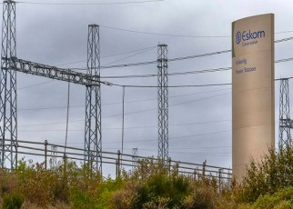 Eskom power transmission lines