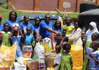 Roke Telkom has offered material and food support to improve the welfare of up to 200 children at Good Samaritan Children's Home in Entebbe.