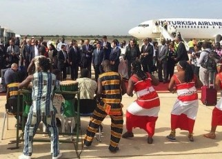 Turkish Airlines has widened its African network by launching flights to Banjul, the Administrative City of Gambia.