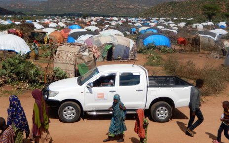 . Overall nearly 1.1 million people are displaced in the Somali region when other causes such as drought and flood are included.