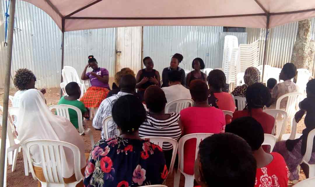 Some of the Women who turn up during the Launch of the programme at FIDA offices in Kampala recently