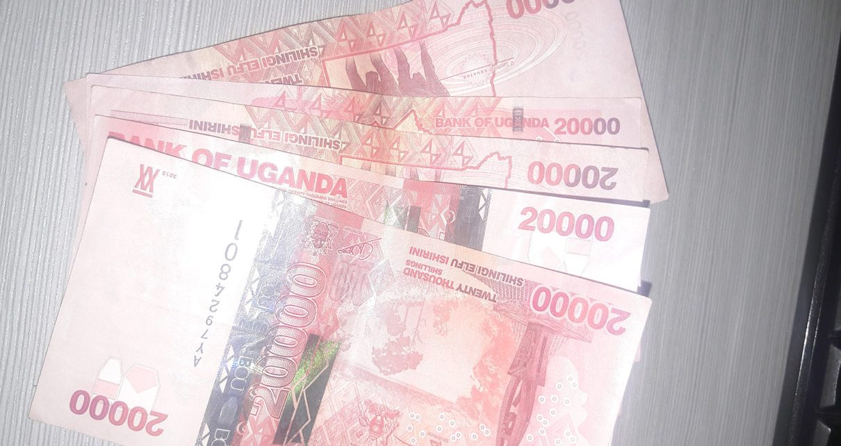 The Uganda shilling clamped onto its gains in yesterday's session as commercial banks continued to convert their dollar holdings to coup with the local currency liquidity squeeze.
