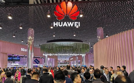Huawei Booth at Hall 1 MWC2019