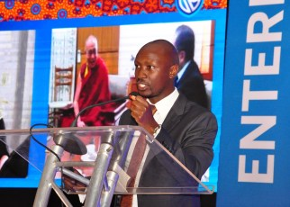 Stephen Segujja, Stanbic Bank Head Enterprise Banking.