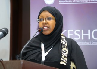 Dr Sitna Mwanzi, Consultant Medical Oncologist at Aga Khan University Hospital
