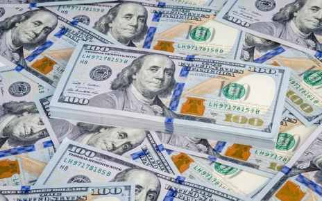 The U.S. dollar was stronger against a basket of other currencies on Monday ahead of an expected Federal Reserve rate cut on Wednesday.
