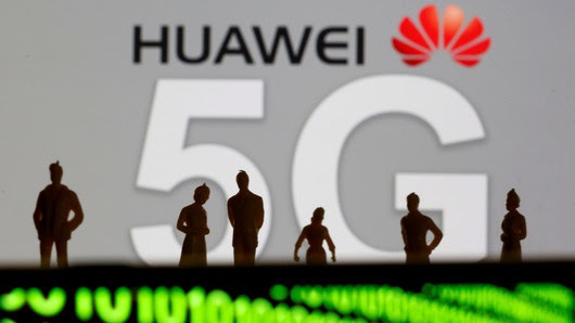 """Huawei's 5G will absolutely not be affected,"" he said."