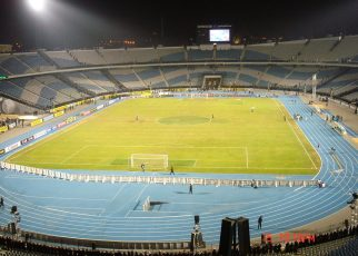 Cairo International Stadium.
